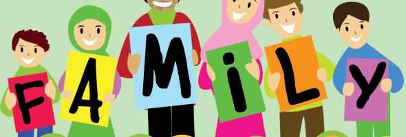 gambar-kartun-keluarga-muslim